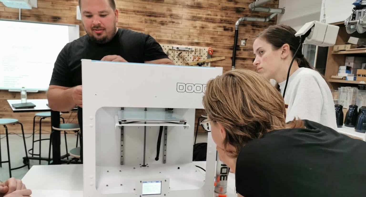 3D printing approach for Education- workshops